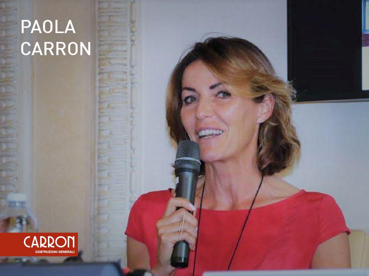 Paola Carron neoeletta Presidente di ANCE Treviso