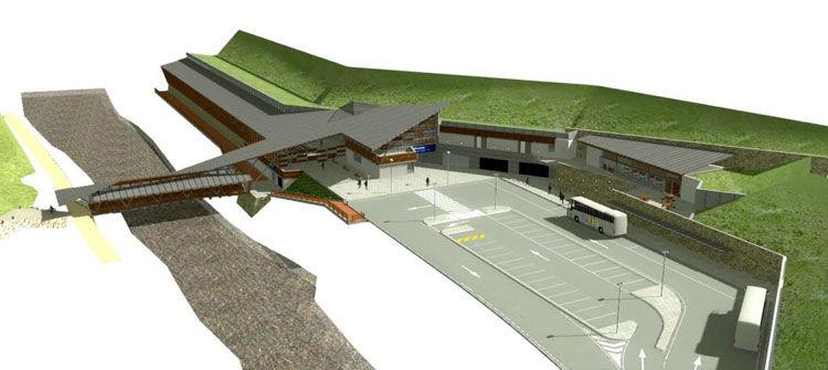 Interramento della linea ferroviaria Trento-Malè e Nuova stazionediLavis (TN) - image 1